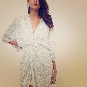 Asos tall kimono sequence dress